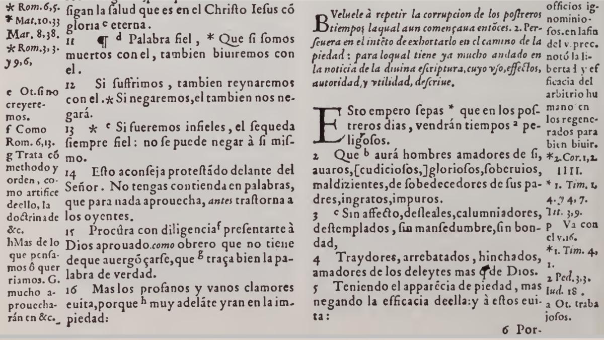 Biblias Españolas de antigüedad