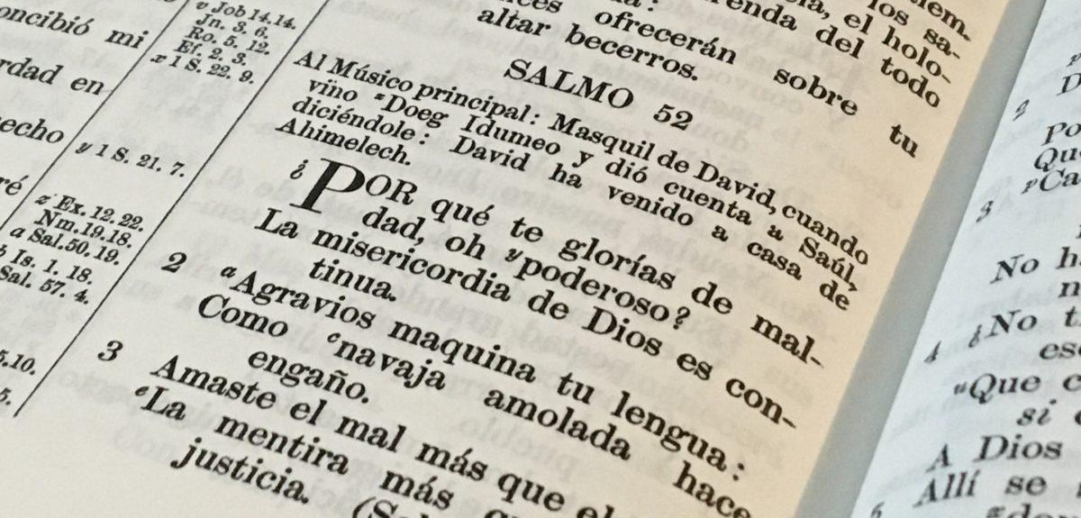 El fin último de todo aprovechador o estafador – Salmo 52