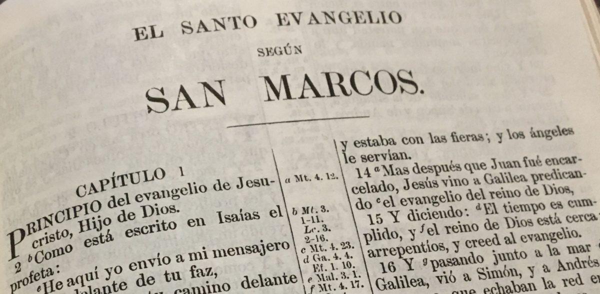 Lectura repasando toda la Biblia – Éxodo 28-40 y Marcos 1-5